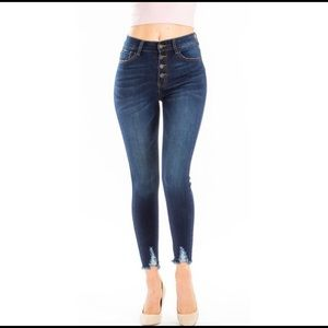 NWT Nature Denim by KanCan high rise skinny jeans